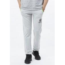 Quần jogger nam không bo chân Phúc An 1042 màu xám trắng