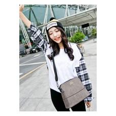 Túi xách nữ She Hàn Quốc màu xám đậm